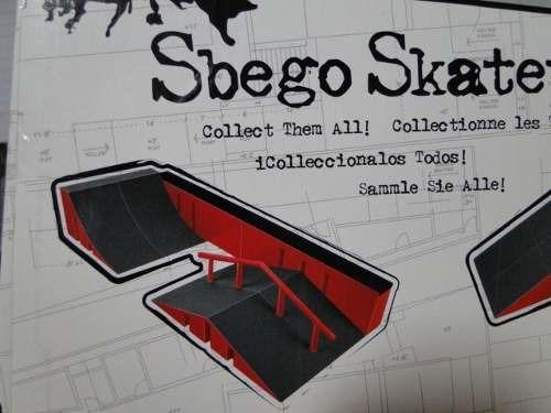 pista original sbego com skate & bike com acessorios e peças