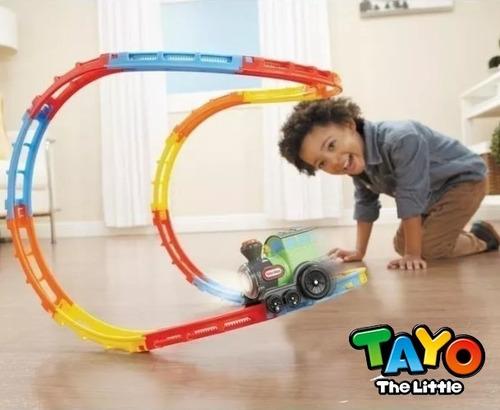 pista tren didáctico juguetería tayo train juguetes