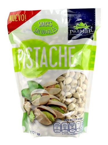 pistache premier snacks saludables 1kg