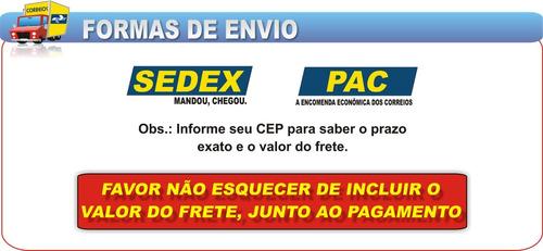 pistao + aneis  fan125 09- 0,75 adx kit