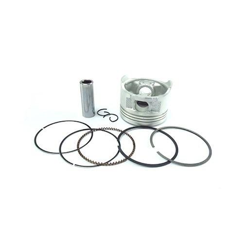 pistao + aneis  titan 150  / nxr150 06- 1,00 adx kit