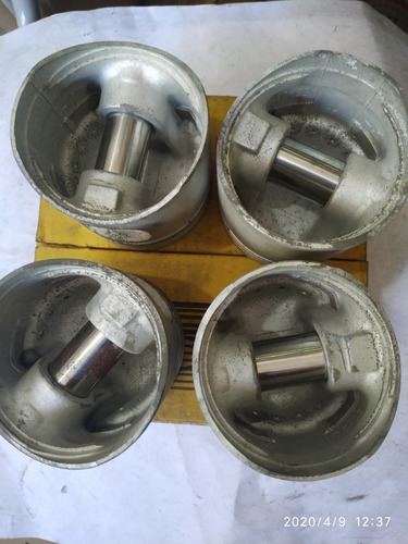 pistao passat/parati 1.6 alcool 050mm/05-85 metal leve p1450