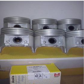 Pistão/aneis/tucho E Comando Opala 4.1 6cc Metal Leve