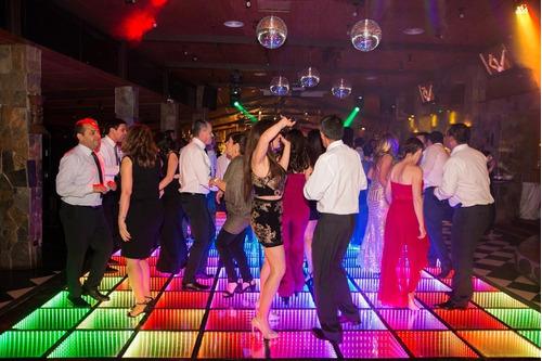 pistas de baile led, infinity, mix y sky
