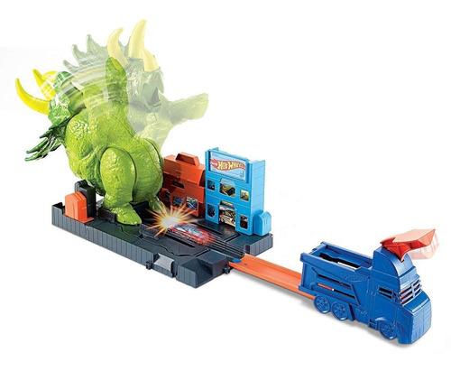 pistas hotwheel triceratops pista de carros hot wheels