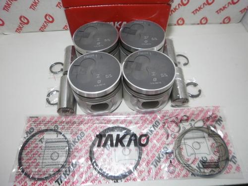 pistão com anéis mitsubishi l200 sport hpe 2.5 8v
