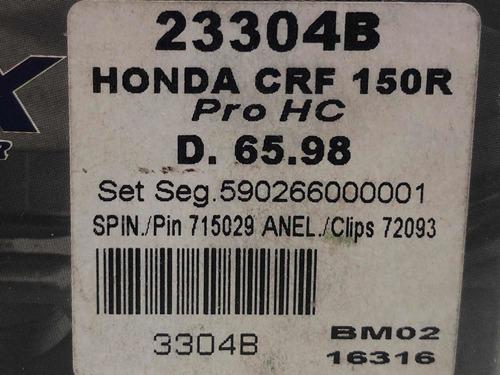 pistão crf 150r d. 65.98 novo cod: 2446