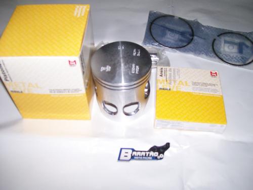 pistão e anéis medida 1.00mm metal leve yamaha dt 180