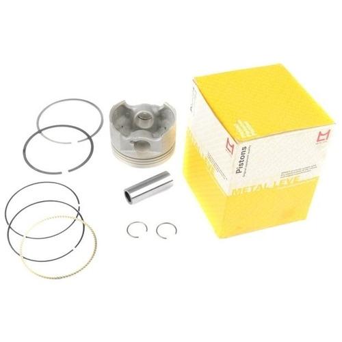 pistão motor anéis aero cbx 150 honda metal leve pa9024 0,75