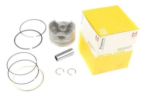 pistão motor anéis pino cbx 150 honda metal leve pa9024 0,50