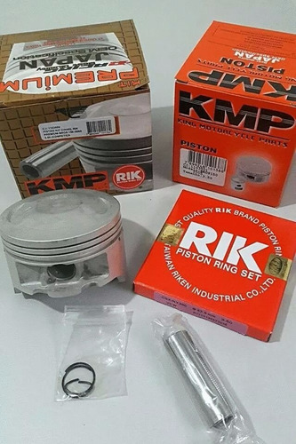 pistão taxado 1mm crf 230 premium + juntas