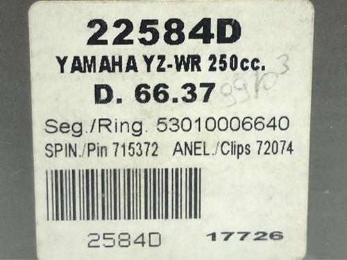 pistão yz 250 e wr 250 d. 66.37mm cod: 2723