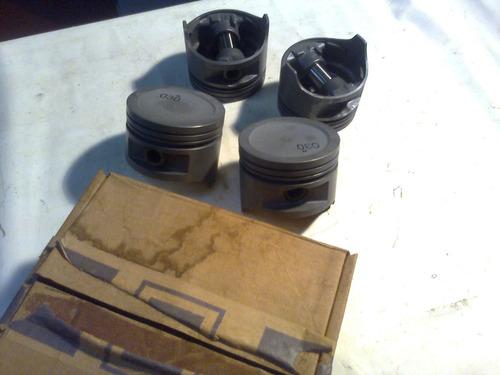 pistões 0,30 em jogo opala de 4 cilindros 74/84 e c-10 76/**
