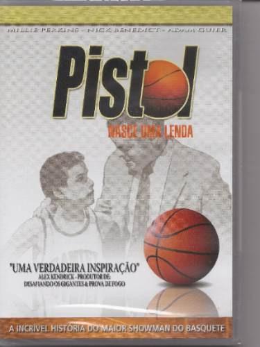pistol - nasce uma lenda - dvd - filme - gospel