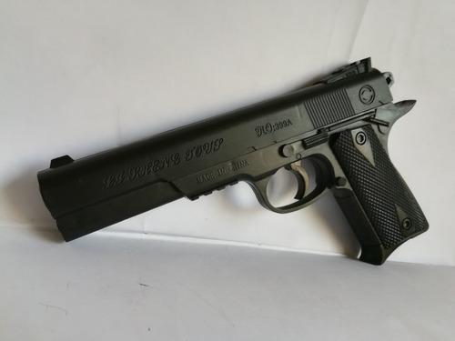 pistola 1:1 airsoft + 750 balines 6mm gratis