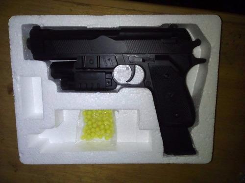 pistola a balines de juguete,de plastico