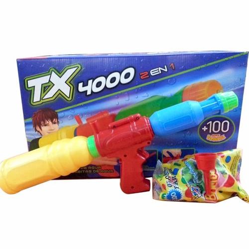 pistola agua tx 4000 2 en 1 original antex casa valente
