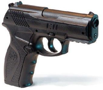 pistola aire comprimido crosman c11. balines metálicos usa