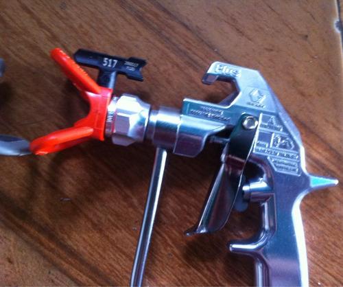 pistola airless graco modelo silver plus 5000psi