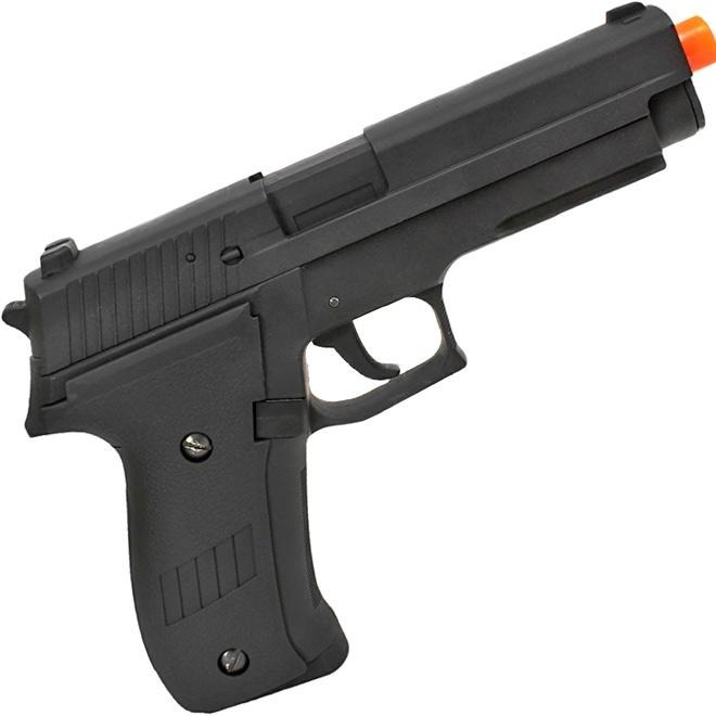 78be5e18a21 Pistola Airsoft Aep Sig Sauer Slide Metal 6.0mm Cm122 Cyma - R  759 ...