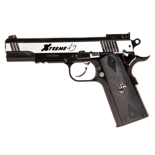 pistola airsoft aluminio acero g&g original blowback pro co2