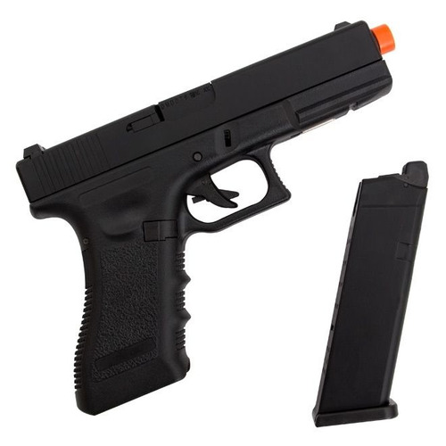 pistola airsoft army armament glock r17 blowback gbb