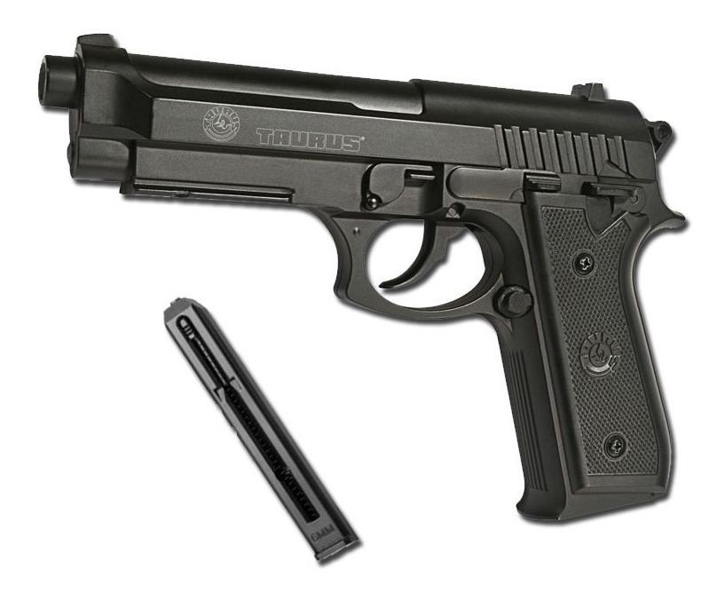 Pistola Airsoft Beretta Taurus Pt92 Muelle 6mm Potente Unica