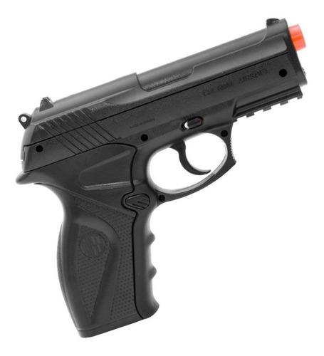 pistola airsoft c11 rossi gás 6mm com bbs co2 e alvos