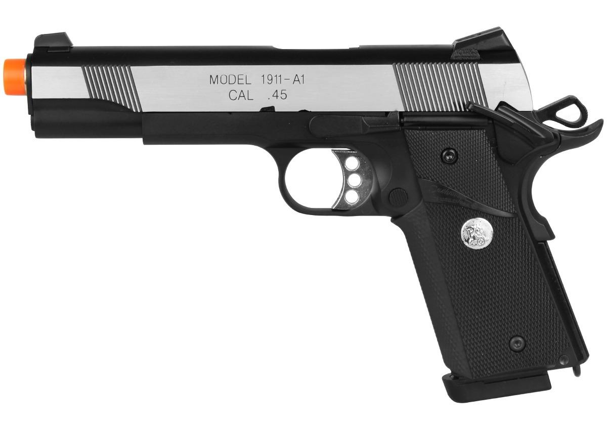 Pistola Airsoft Gbb Army Armament 1911 R28 Warrior Kimber