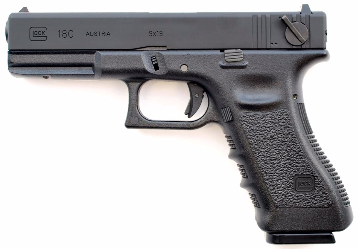 Pistola Airsoft Glock 18- Gen 4-6mm- Full Metal - Blowback ...