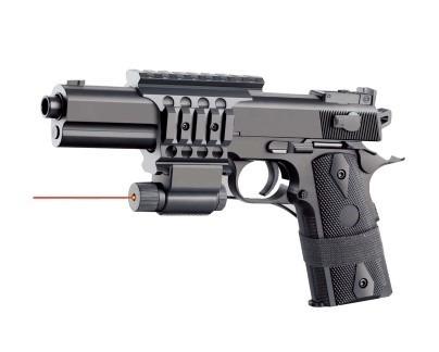 pistola airsoft gun modelo 2123-a2 con láser