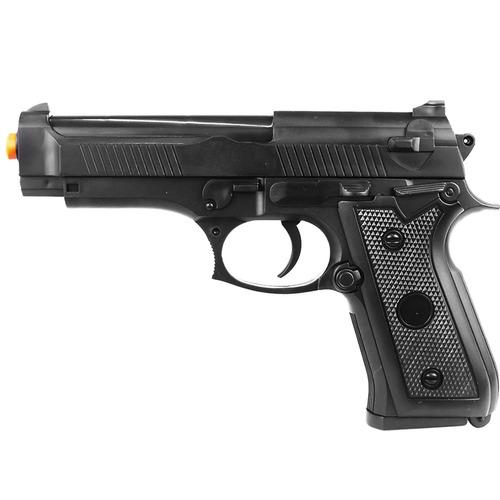 pistola airsoft p92 spring 137fps 42m/s 12bb's 6mm vigor