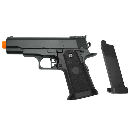 pistola airsoft spring g10 full metal galaxy+6000 bbs 0.12g