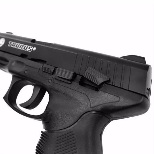 pistola airsoft taurus pt 24/7 cybergun com 2 magazines