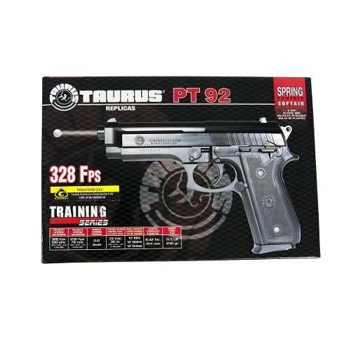 pistola airsoft taurus pt92 spring abs 6mm cybergun