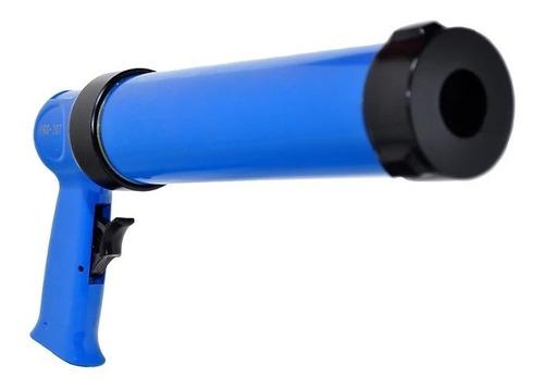 pistola aplicador de silicone pneumático pdr pro -207 400ml
