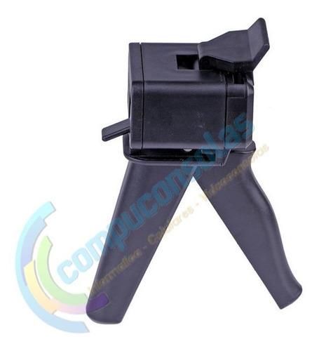 pistola aplicador dispensador para pegamento gel uv