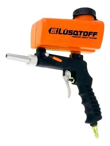 pistola arenadora gravedad lusqtoff neumatica prof compresor