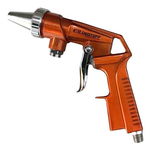 pistola arenadora lusqtoff neumatica con manguera succion