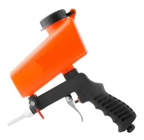 pistola arenadora neumatica lusqtoff aluminio 700cc con aire