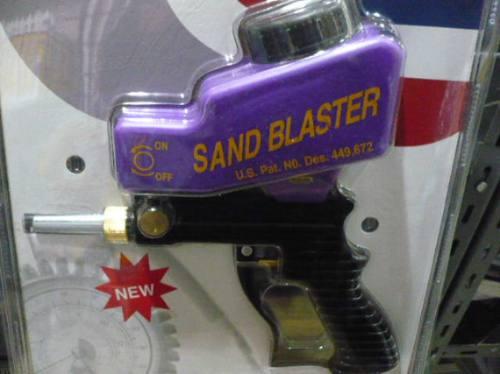 pistola arenadora por gravedad