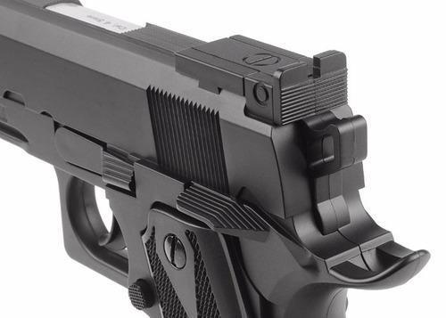 pistola balin bbs 4,5 swiss arms p1911 match