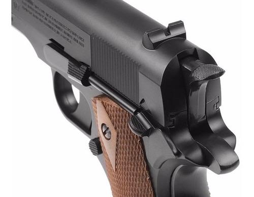 pistola balines crosman gi 1911 blowback nuevas !!