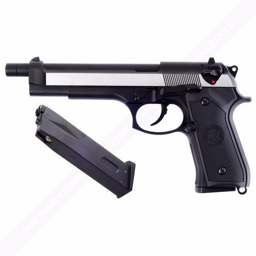 pistola beretta airsoft full metal blowback tienda e-nonstop