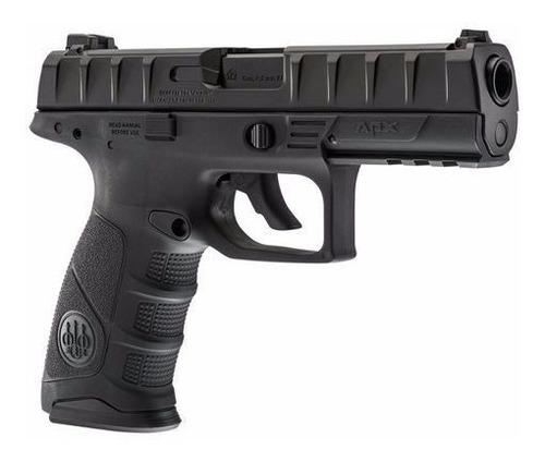 pistola beretta apx co2 blowback postas 4.5mm acero tiro