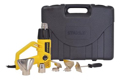 pistola calor 1800w incluye kit 6 accesorios estuche stanley