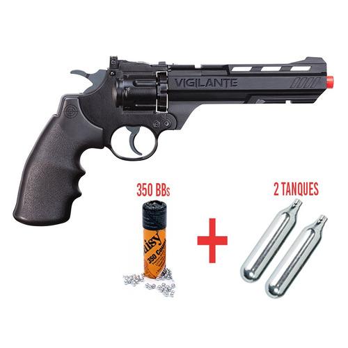 pistola co2 airsoft bbs crosman vigilante 4.5