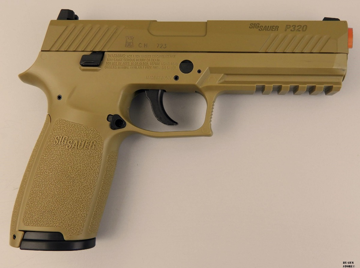 Pistola Co2 Sig Sauer P320 Cyt Blowback Cal 4,5mm