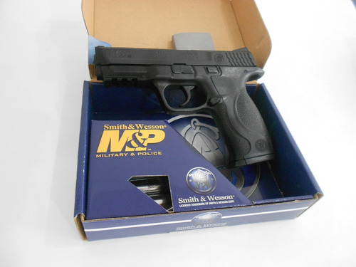pistola co2 smith & wesson m&p40 480 fps manifiesto 4.5mm