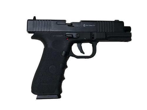 pistola co2 stinger g17 4.5 blowback corredera metal cuotas